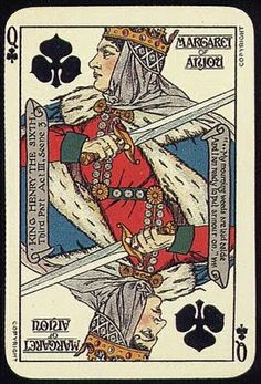 Queen of clubs vintage playing card. Cool Playing Cards, Custom Playing Cards, Vintage Playing Cards, Play Your Cards Right, Card Tricks, Tarot Decks, Deck Of Cards, Card Games, Queen