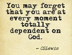 #63 - Dependent | Top 100 C.S. Lewis quotes | Deseret News