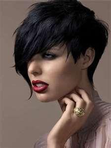 short gothic hairstyles