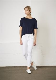 Show details for Julia Ankle Trousers - White