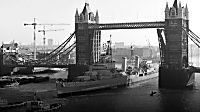 HMS Belfast marks 45 years on the River Thames