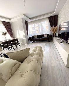 """🎀 Yeni Gelin Evleri 🎀 on Instagram: """"🤗 Nasıl Buldunuz ? Yorum Ve Beğenilerinizi Bekliyorum . . Sayfamızı Takip Edin 👉@_yenigelin.evleri .  #dekorasyon #decor #home #mutfak…"""" Sofa, Couch, Curtains, Furniture, Instagram, Home Decor, Settee, Settee, Blinds"""