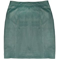 On A Good Wicket Mini (10.775 RUB) ❤ liked on Polyvore featuring skirts, mini skirts, bottoms, leather miniskirt, green leather skirt, leather mini skirt, short leather skirt and short skirts