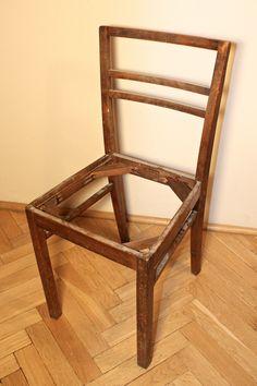 Majsterki: renowacja krzesła tapicerowanego