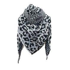 Foulard Echarpes et foulards Echarpe triangle femme imprimé léopard Écharpe  chaude châle by LHWY ( ec52c1997c1