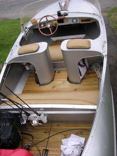 Boat Plans: What You Must Know Before Choosing One Boat Pics, Sport Yacht, Runabout Boat, Boat Restoration, Build Your Own Boat, Vintage Boats, Boat Projects, Cool Boats, Aluminum Boat
