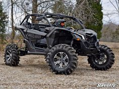 """Details Can-Am Maverick X3 4"""" Portal Gear Lift Why We Make Them? Take back your torque with Gear Driven Performance by SuperATV. We all know monster tires rob y"""