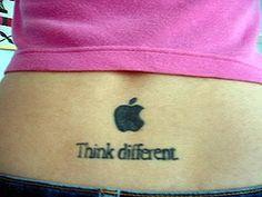 Brand Name Tattoo Fails Nerdy Tattoos, Bad Tattoos, Sleeve Tattoos, Cool Tattoos, Zelda Tattoo, Hp Tattoo, Tattoo Fails, Computer Tattoo, Pinterest Tattoo Ideas