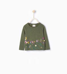 Floral print top - T - shirts - Baby girl | 3 months - 4 years - KIDS | ZARA United Kingdom