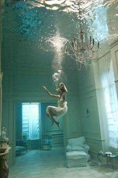 under water line