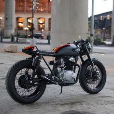 #FOXCB350 is headed to its new home today. #Caferacer #CognitoMoto #ridefox #CB350 by cognitomoto http://ift.tt/1xevTUq