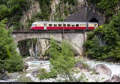 RailPictures.Net Photo: 1053 SBB Historic RAe TEE II at Wassen, Switzerland by Georg Trüb