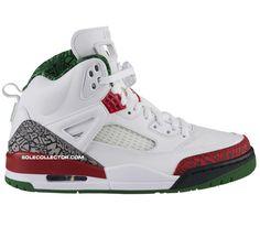 Jordan Spiz'ike OG – White / Varsity Red – Classic Green