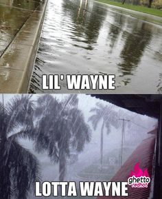 Lil Wayne does the weather