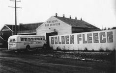 Grenda's Bus Company commences in 1945 from 9 Foster St Time In Australia, Australian Continent, Australian Cars, Bus Coach, Melbourne Victoria, Largest Countries, Local History, Small Island, Tasmania