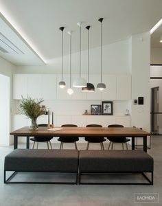 Awful Ways Make Modern Dinning Room Interior Styles Dining Room Table Awful Dinning interior modern Room Styles ways Dining Room Lighting, Modern Dining Room, Dining Room Decor, Minimalist Dining Room, Dining Room Contemporary, Dining Table Lighting, Interior, Dining Room Decor Modern, Trendy Dining Room