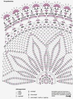 Virkad spetsduk _ A mönster