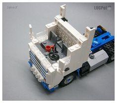 Lego Machines, Lego Guns, Lego Truck, Lego Construction, Lego Creations, Building Design, Legos, Scale Models, Trucks