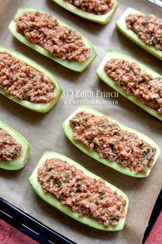 κολοκυθάκια-δίσκος Zucchini, Vegetables, Food, Dukan Diet, Essen, Vegetable Recipes, Meals, Yemek, Veggies
