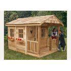 Little Cottage Company Sara's 10x18 W Victorian Mansion DIY Kit Playhouse You'll Love | Wayfair