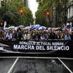 Marcha del silencio 18 F: en todo el país marcharon por Nisman