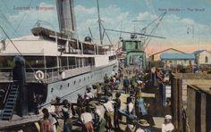 Lourenco Marques docks, Portuguese East Africa