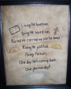 Cross easter vintage ephemera on that first glad easter day cross easter vintage ephemera on that first glad easter day when the stone was rolled away death the enemy before vanquished was for evermo negle Images