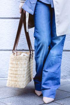 Dusyt Blue  die alternative Trendfarbe zu Pastelltönen - Outfit mit Pantone  Trendfarbe 2018 auf liebewasist 1a63b52768