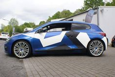 Vw Scirocco, Custom Wraps, Camo Designs, Car Wrap, Cars Motorcycles, Cool Cars, Race Cars, Camouflage, Volkswagen