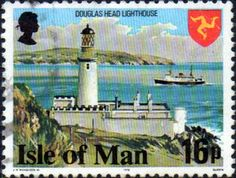 Postage Stamps Isle of Man 1978 SG 123 Douglas Head Lighthouse Fine Mint Scott 124 Other British Commonwealth Empire and Colonial stamps Here