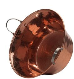 Sertodo Permian Basin, 15 Inch Diameter By 7 Inches Deep, Hammered Copper With Stainless Steel Handles, 2015 Amazon Top Rated Ice Buckets #Kitchen