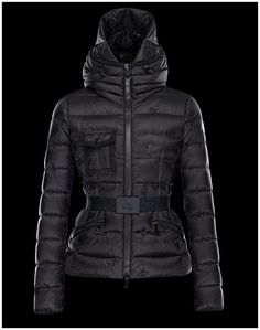 fd43da2772ff Doudoune Moncler CHEVERNY manteaux hiver femme hooded noir Cheverny, Coats  For Women, Jackets For