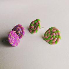 cute sweet stud earrings by MadCoookies on Etsy My Etsy Shop, Stud Earrings, Cookies, Trending Outfits, Unique Jewelry, Handmade Gifts, Sweet, Cute, Vintage