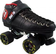 Renegade Invader Stinger  Boot: Vanilla Renegade  Plate: Sure Grip Invader with DA45 Trucks  Wheels: Atom Stinger  Bearings: Bones Reds  Toe Stops: Adjustable Mini Webbs  Color: Black Only  $399.00