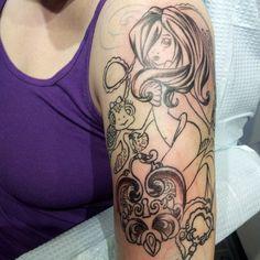 1828558cd9dc1 mermaid tattoo half sleeve more tattoo half sleeves mermaid tattoos .