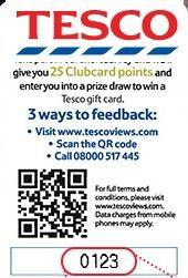www.TescoViews.com – TESCO Customer Survey