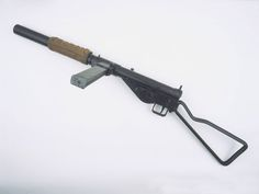 Sten Mk IIS 9 mm silenced sub-machine gun, 1942 (c) | Online Collection | National Army Museum, London