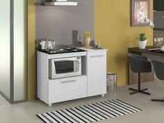 Balcão de Cozinha para Cooktop de 5 Bocas 2 Portas - Multimóveis com as melhores condições você encontra no Magazine Etukadigital. Confira!