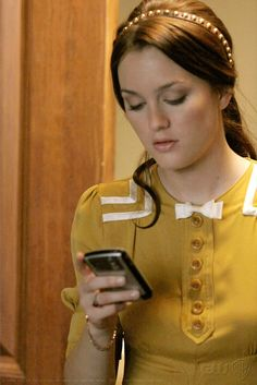 "Leighton Meester as Blair Waldorf ""Woman on the Verge"""