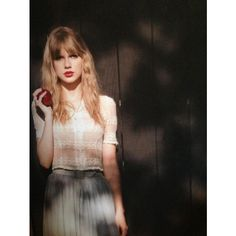 All red photoshoot pics Taylor Swift ❤ liked on Polyvore