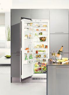 Frigider incorporabil Liebherr IK 334 l, A++ Top Freezer Refrigerator, French Door Refrigerator, Innovation, French Doors, Lockers, Locker Storage, Kitchen Appliances, Cabinet, Interior
