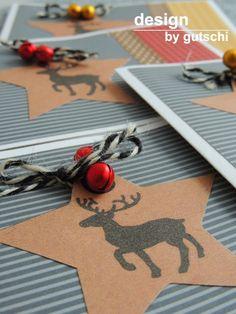 Weihnachtskarten mit Stern
