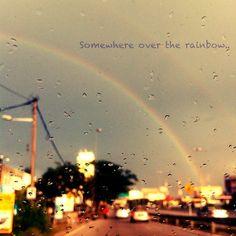 Somewhere over the #rainbow  #photooftheday - @qiaoshuen- #webstagram