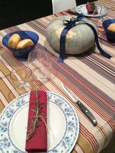 Autunno sulla tavola Edigì! #autunno #zucca #rosmarino