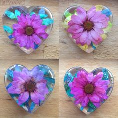 Real flowers preserved in resin . Glass Cast Resin, Real Flowers, Preserves, All Things, Rainbow, Keepsakes, Followers, Handmade, Stuff To Buy