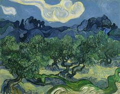 The Olive Trees    Artist: Vincent van Gogh  Year: 1889  Type:  Oil on canvas
