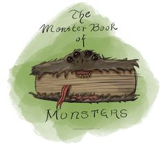 The Monster Book of Monsters - Day 85 #hp everyday - zippityzaparoo.tumblr.com
