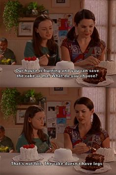 When her protective motherly instinct was on point. | 19 Times Lorelai Gilmore…