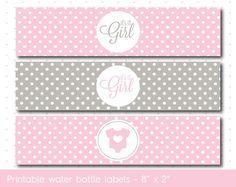 FREE Pink Princess printable water bottle labels #pinkprincess ...