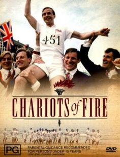 """Chariots of Fire 1981 - I liked this movie a lot when it came out.  I was starting to read British Lit for school and liked how they used the William Blake hymn, """"Jerusalem"""" which Emerson, Lake and Palmer also did a fine job with."""